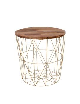 Jaxson Geometric Frame Side Table (48cm X 45cm) by Matalan