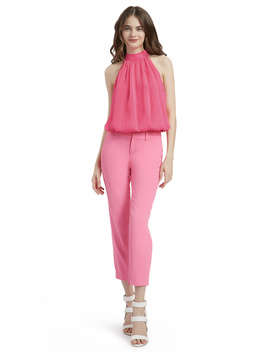 Stacey Slim Trouser by Alice And Olivia