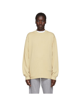 Ssense Exclusive Beige Boxy Long Sleeve T Shirt by Essentials