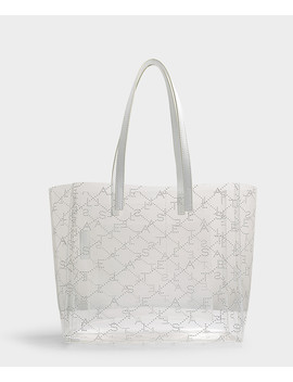Clear Pattern Small Tote by Stella Mccartney
