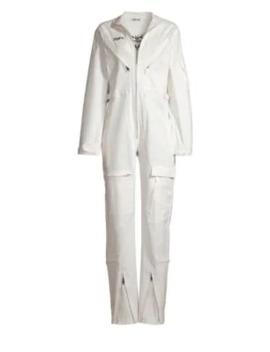 Neo Noir Boiler Zip Flight Suit by I.Am.Gia