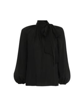 Silk Tie Blouse by Zimmermann