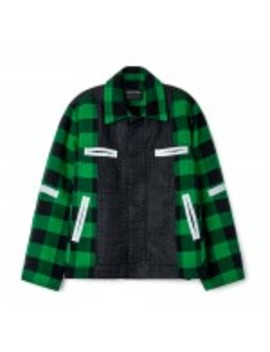 Craig Green Plaid Worker Jacket (Green) by Dover Street Market
