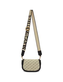 Beige Monogram Belt Bag by Stella Mccartney
