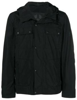 Zipped Hooded Jacket by Belstaff