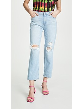 Noella Straight Caballo Jeans by Paige