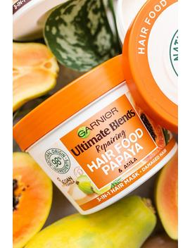 Garnier Ultimate Blends Hair Food Mask Papaya 390ml by Boohoo