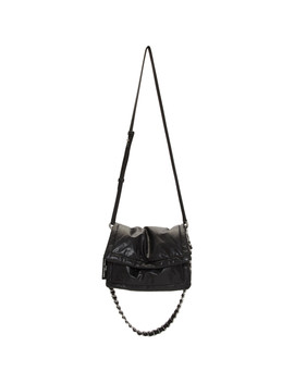 Black Leather 'the Pillow' Bag by Marc Jacobs