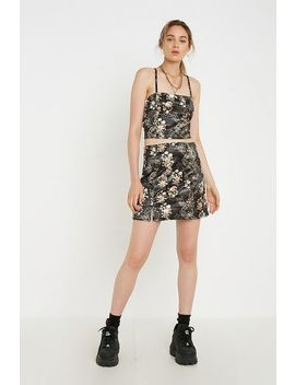 "Urban Outfitters – Camisole ""Dragon"" Aus Satin Mit Riemchendesign by Urban Outfitters Shoppen"
