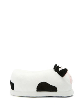 Cow Indoor Slippers by Forever 21