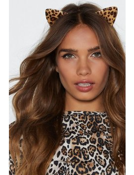The Cat's Meow Leopard Headband by Nasty Gal