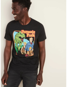 "Jurassic Park™ ""Life Finds A Way"" Graphic Tee For Men by Old Navy"