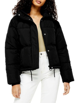 Sasha Puffer Jacket by Topshop
