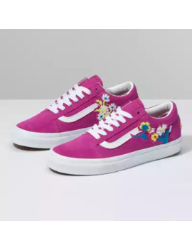 Floral Chenille Old Skool by Vans