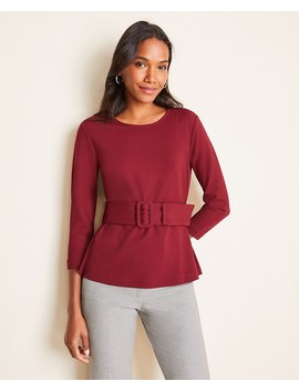 Belted Top by Ann Taylor