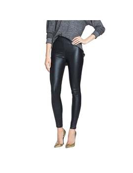Minkpink Women's Out Of This World Black Faux Leather Leggings by Generic