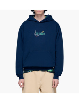 Embroidered Smoke Hoody by Bronze56 K