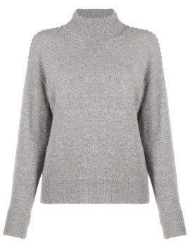 Whipstitch Turtleneck Sweater by Theory