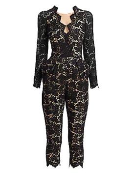 Scalloped Lace Jumpsuit by Stella Mc Cartney