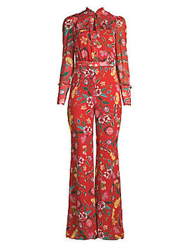 Imogene Floral Jumpsuit by Alexis