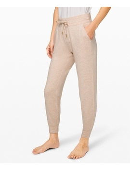 Warm Down Jogger Soft Touch New by Lululemon