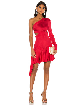 Rocca Dress In Red by Alexis