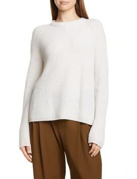 Shaker Stitch Cashmere Sweater by Vince
