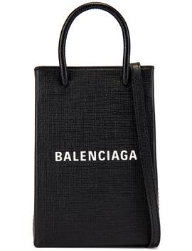 Shopping Phone On Strap Bag by Balenciaga