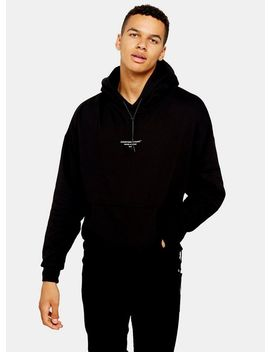 Good For Nothing Black Oversized Hoodie by Topman