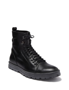 Hudson Waterproof Leather Lace Up Boot by Hood Rubber