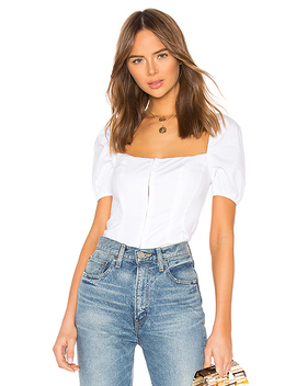 Adelina Top In White by Lpa