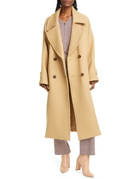 Amber Double Breasted Wool Coat by Sea