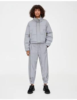 Светоотражающие серые брюки by Pull & Bear