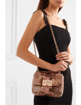 Natalia Sequined Suede Shoulder Bag by Tom Ford