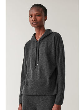 Hooded Cashmere Sweater by Cos