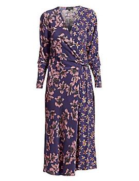 Odette Floral Print Dress by Rag & Bone