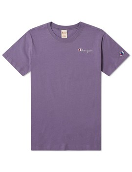 Champion Reverse Weave Women's Small Script Tee by Champion