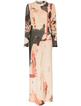 Collage Print Maxi Dress by Marques'almeida