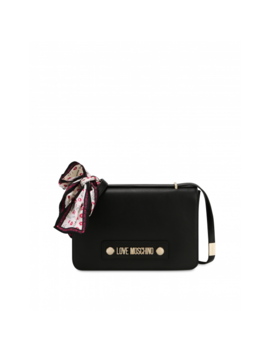 Baci Baci Shoulder Bag With Scarf by Moschino