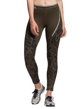 Run Long Zip Cuff Tights by Adidas By Stella Mccartney