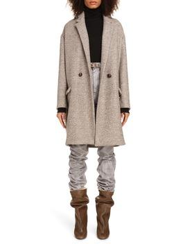 Filipo Wool Blend Coat by Isabel Marant