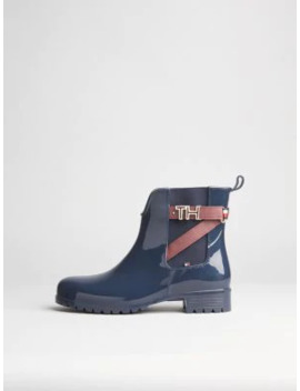 Chelsea Ankle Rain Boots by Tommy Hilfiger