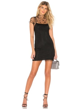 Arie Star Mesh Dress(Revolve) by By The Way