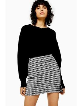 Topshop Check Split Mini Skirt by Next