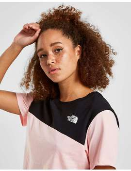 The North Face Crop Panel Logo T Shirt by Jd Sports