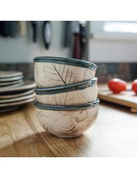 Tiny Round Bowl   Ceramic Baking Ramekin   Yogurt Cup   Condiment Dish by Etsy