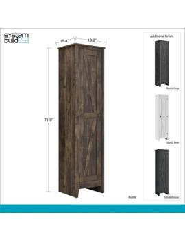 Avenue Greene Becken Ridge 18 Inch Wide Storage Cabinet by Avenue Greene