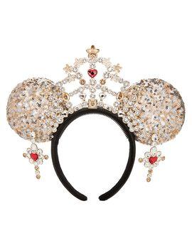 Minnie Mouse Ear Tiara Headband For Adults By Heidi Klum – Limited Release | Shop Disney by Disney