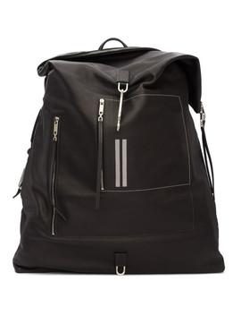 Black Midi Mega Duffle Bag by Rick Owens