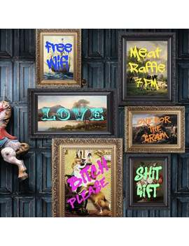 Graffiti Wall Art Prints Pictures by Etsy